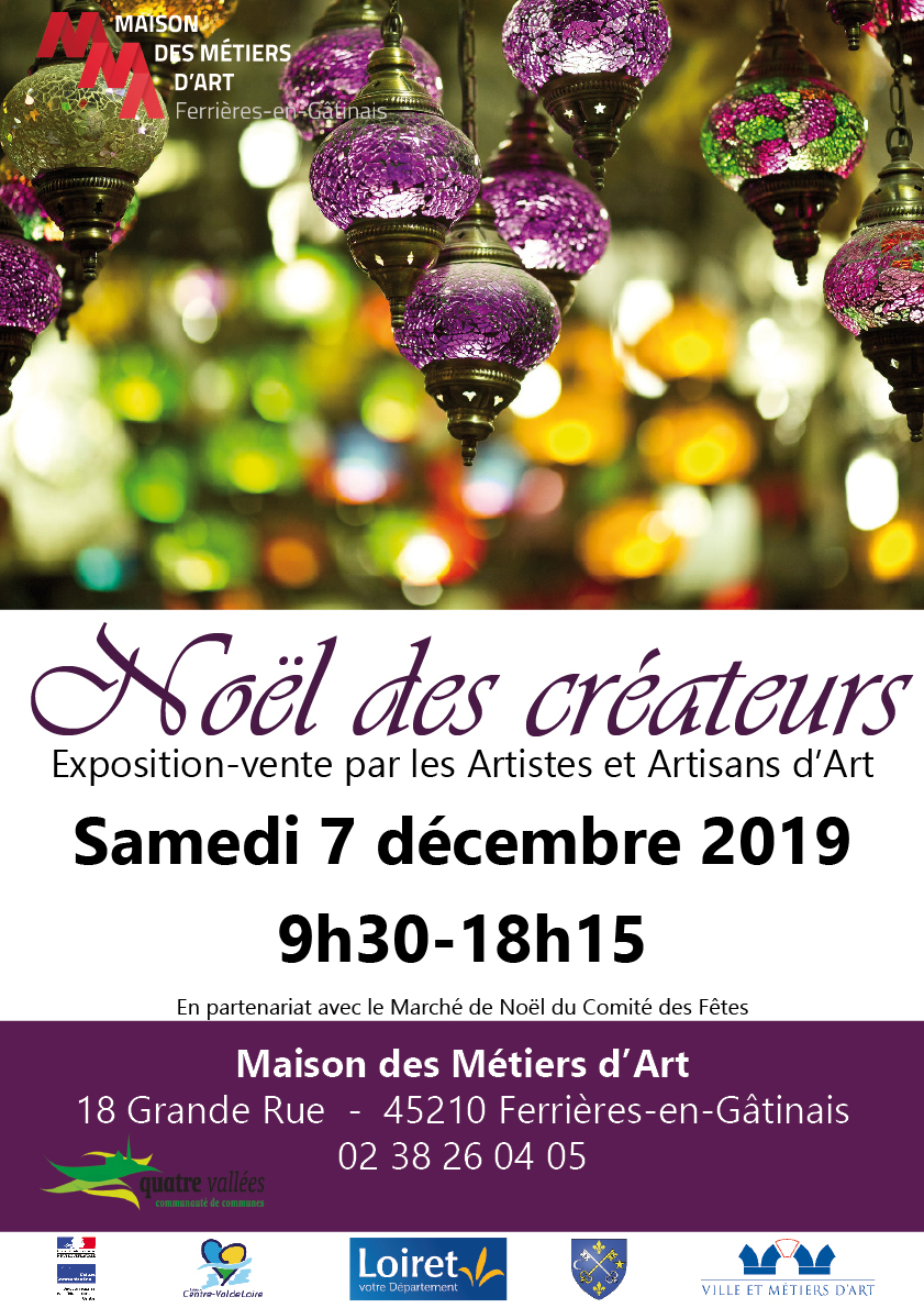 Evenements à la Maison des Métiers d'Art